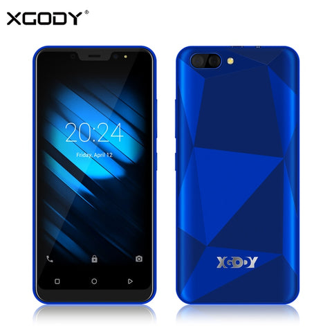 Image of XGODY X27 Face ID Smartphone Android 9.0 1GB 16GB MTK6580 Quad Core 5 Inch 3G Dual Sim 5MP Camera GPS Mobile Phone 3D Back Cover