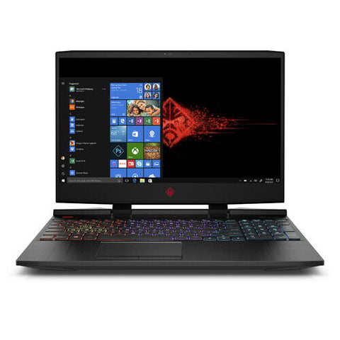 HP OMEN 15.6 Gaming Laptop Intel i7-8th 16GB RAM 1TB HD 128GB SSD RTX 2070 144Hz