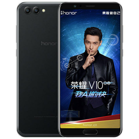 Image of Huawei Honor V10 Mobile Phone Android 8.0 Honor View10 Smartphone 5.99'' 1080P