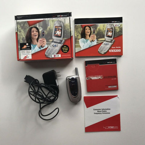 Image of LG VX5200  Silver Verizon Cellular Cell Phone