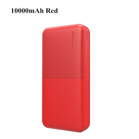 Image of A.S 10000mAh Power Bank For Xiaomi Samsung iPhone Huawei Nokia Powerbank Portable Dual USB Charging External Battery Pack Bank