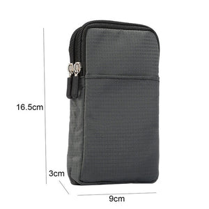 Super Large Size Phone Bag Universal Outdoor Wallet Bags Case For All Phone Model Belt Pouch Holster Bag Outdoor Pocket