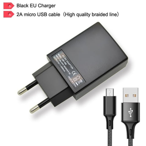 Image of Universal USB Charger Wall Travel mobile Phone Charger AC/DC Power Adapter 2A fast charge For iPhone iPad Samsung Tablet PC WIFI