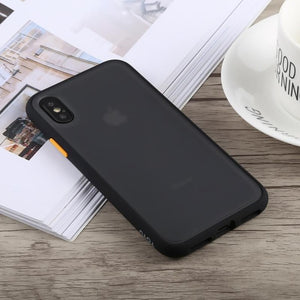 TOTUDESIGN Gingle Series Shockproof TPU+PC Case for iPhone X & XS & XS Max & XR
