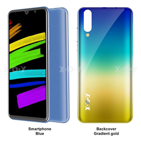 Image of NEW Xgody P30 Mobile Phone Android 9.0 5.99inch 2GB RAM 16GB ROM MT6580M Quad Core Dual Camera 3G Smartphone celular