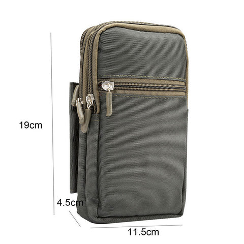 Image of Super Large Size Phone Bag Universal Outdoor Wallet Bags Case For All Phone Model Belt Pouch Holster Bag Outdoor Pocket