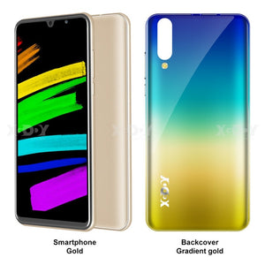 NEW Xgody P30 Mobile Phone Android 9.0 5.99inch 2GB RAM 16GB ROM MT6580M Quad Core Dual Camera 3G Smartphone celular