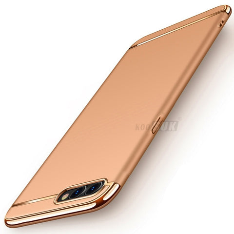 Image of a3s Case For OPPO A3s Cover 3in1 Full Body Protection Shell hard Luxury Back Cover For OPPO A3S Phone Cases Bag Coque Ultra thin