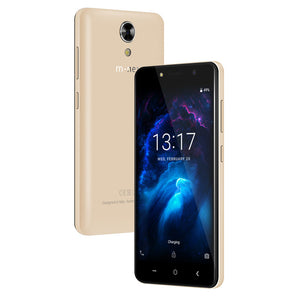 M HORSE Power 1 Mobile Phone 5.0 Inch 5050mAh Android 7.0 1GB RAM 8GB ROM MTK6580 Quad Core Dual 5MP Camera 3G Sim Smartphone
