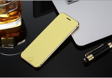 "ULCOOL V6 V66+ V66 Plus Phone With Super Mini Ultrathin Card Luxury MP3 Bluetooth 1.67""inch Dustproof Shockproof phone"