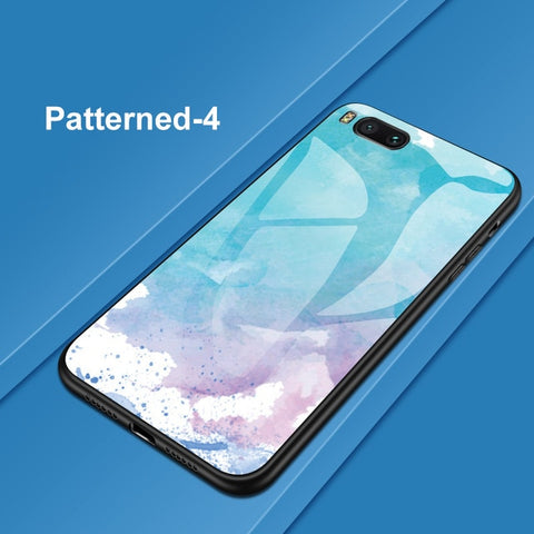 Image of Colorful Tempered Glass Phone Case For Huawei P30 P10 P20 Lite Mate 10 20 Pro Nova 2 2i 3 3i Honor 10 8 9 Lite 8X 7C Cover Coque