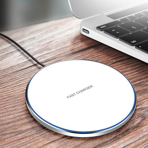 DCAE 10W Wireless Charger Pad Qi Quick Charge USB Fast Charging For iPhone X XR XS 8 Plus Samsung S10 S9 S8 Note 9 8 Xiaom Mi 9