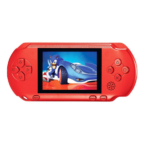 Image of 16 Bit PXP3 Handheld Game Player Video Gaming Console with AV Cable+2 Game Cards Classic Child Family Video PXP 3 Game Console