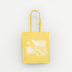 Fabrica yellow tote bag
