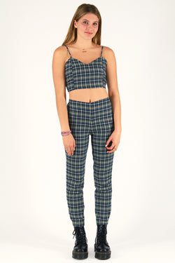 Pants - Flannel Green Plaid