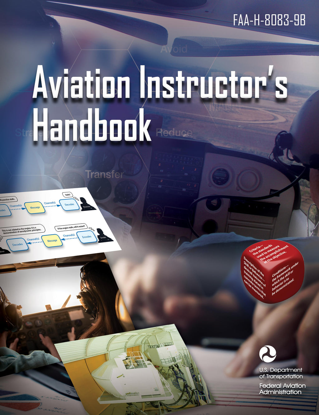Aviation Instructor's Handbook  / Manual del instructor de aviación 8083-9B (eBook PDF) 2020 - Sky Crew PTY