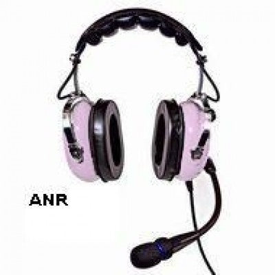 SHARE Facebook Pinterest POWDER PUFF PILOTS ANR HEADSET WITH MP3 JACK - PINK - Sky Crew PTY