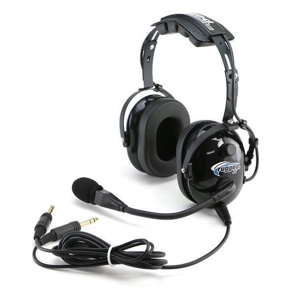 RUGGED AIR RA200 HEADSET - DUAL GA PLUGS - Sky Crew PTY