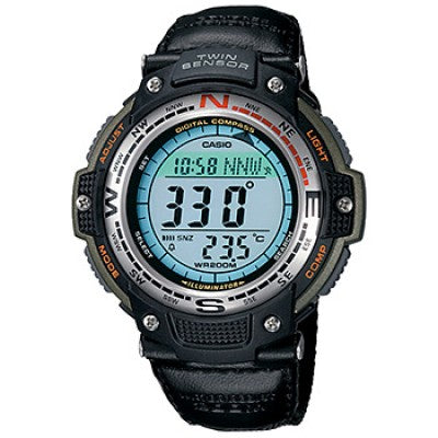 CASIO SPORTS COMPASS-ALTITUDE-PRESSURE WATCH SGW100B-3V