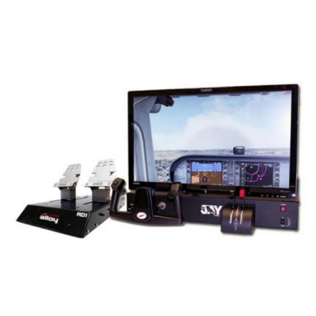 REDBIRD JAY FLIGHT SIMULATOR WITH RD1 RUDDER PEDALS BUNDLE - Sky Crew PTY
