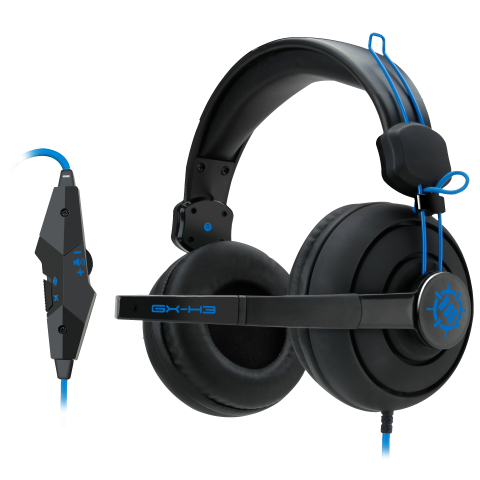 Enhance GX-H3  Pro Gaming, Auriculares para Simulación, Juegos y sports con Over-Ear - Sky Crew PTY