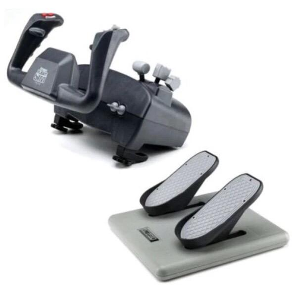 FLIGHT SIM YOKE WITH PRO PEDALS - Sky Crew PTY