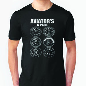 Camiseta Aviator Six Pack T-Shirt - Sky Crew PTY