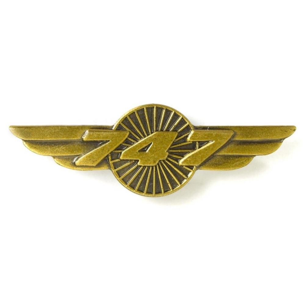 Boeing 747 WING Pin - Sky Crew PTY
