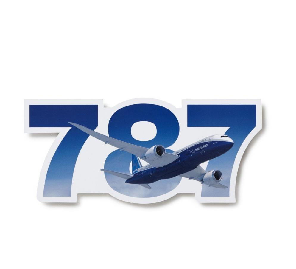 Boeing 787 Dreamliner Sticker - Sky Crew PTY