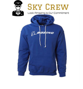 Jacket Boeing Hooded - Sky Crew PTY