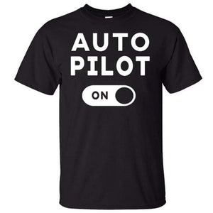 Camiseta Auto Pilot On - Sky Crew PTY