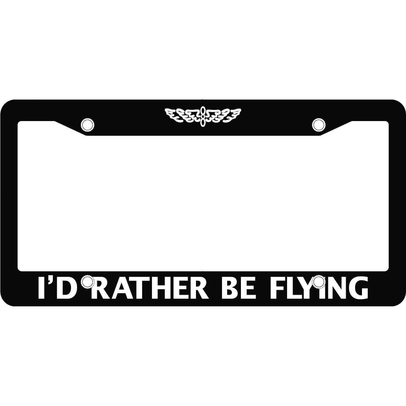 "Marco ""I´d Rather be Flying"" (Placa). - Sky Crew PTY"