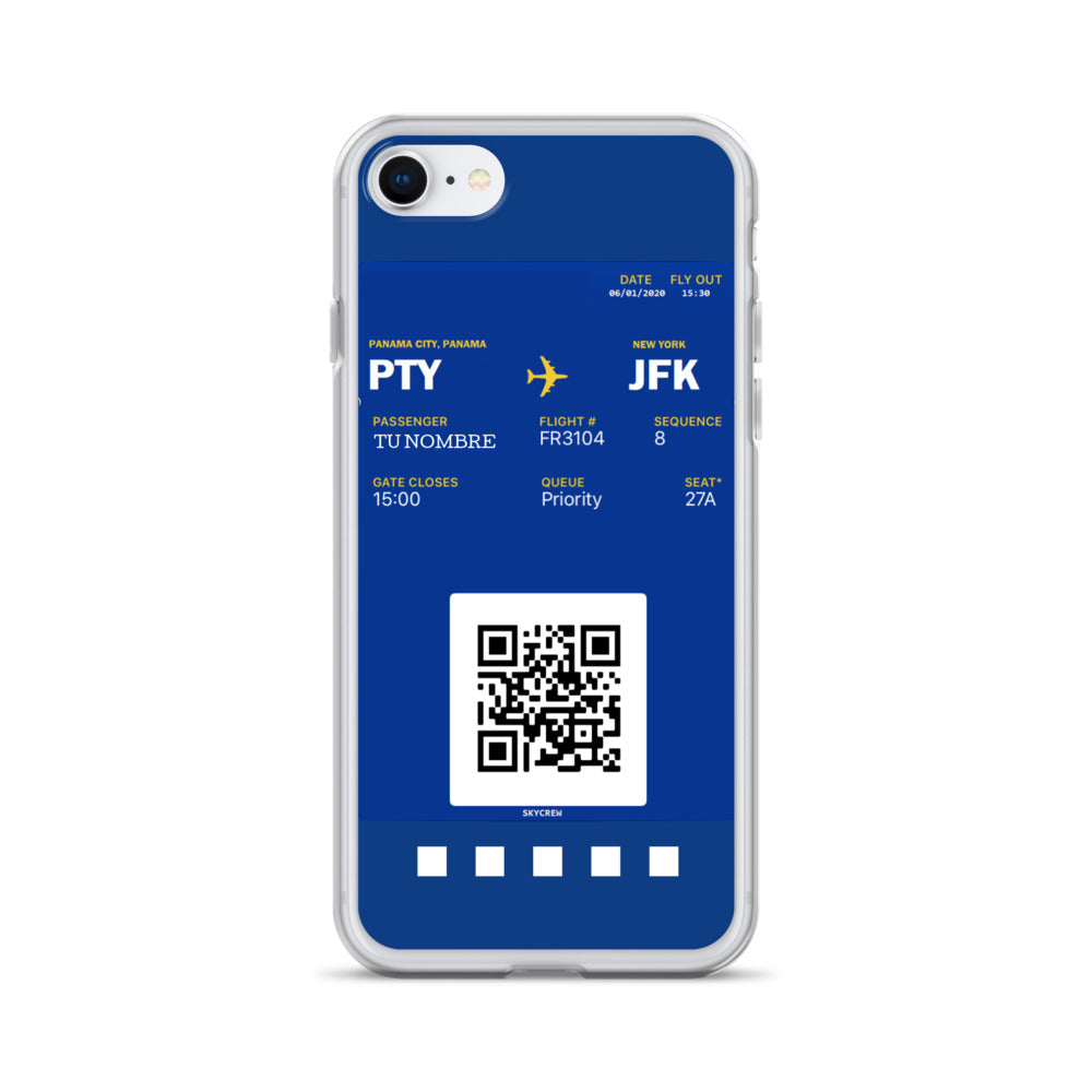 Boarding Pass - Carcasa para iPhone - Sky Crew PTY