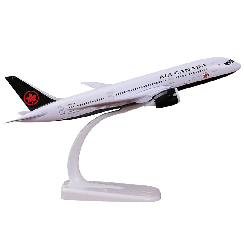 Boeing 787 Plane Model Canadian Airlines 20cm - Sky Crew PTY