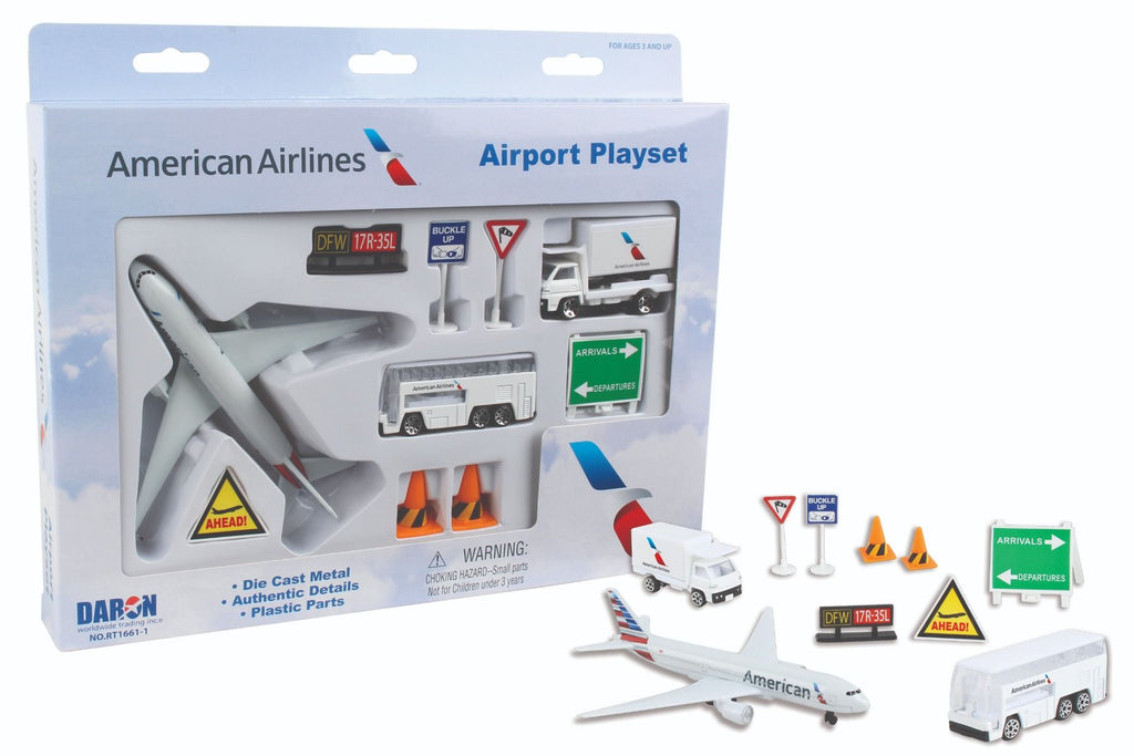 American Airlines Playset - Sky Crew PTY