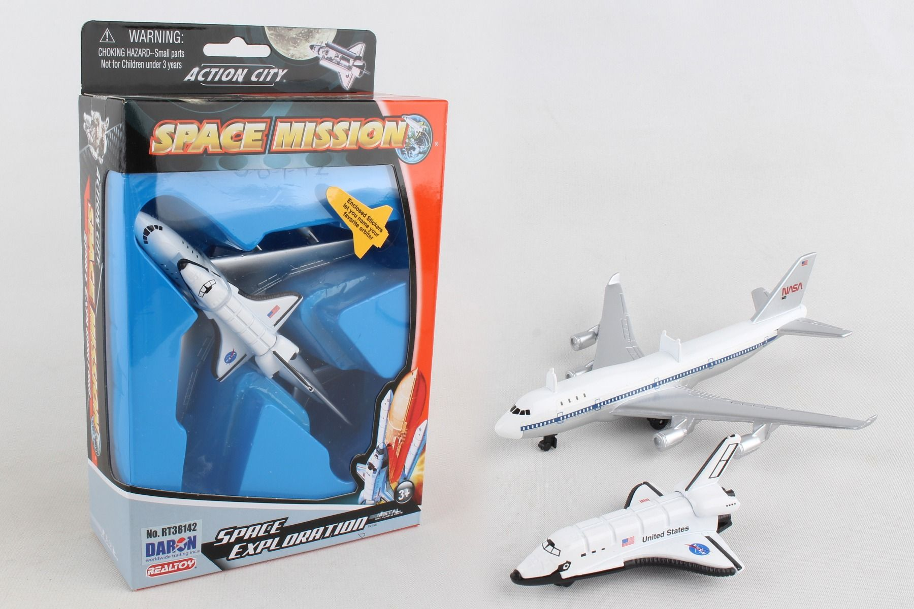 B747 AND SHUTTLE IN SINGLE BOX