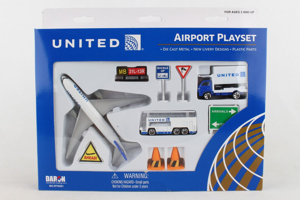 United Airlines Playset - Sky Crew PTY