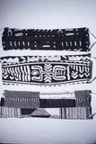 Black & White African Cotton Face Masks