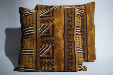 Traditional Mudcloth Pillows