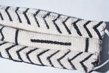 Authentic White/Black African Mudcloth