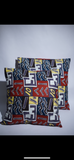 A 90s Kind of World African Cotton Pillows