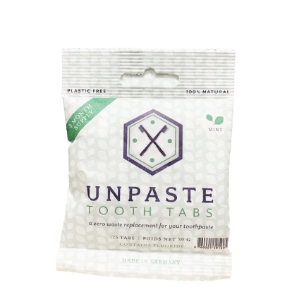 Unpaste Tooth Tabs With Fluoride