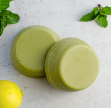 Load image into Gallery viewer, Mint Matcha Lotion Bar