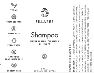Fillaree Shampoo
