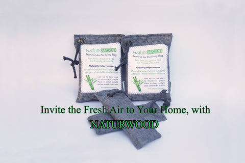 Our Natural Bamboo Charcoal Deodorizer Bags can be reused for Up to Two Years. To Rejuvenate, Please Place the Charcoal Bags under the Direct Sunlight Once a Month for 2 hours. After 2 Years you can recycle to your Garden.