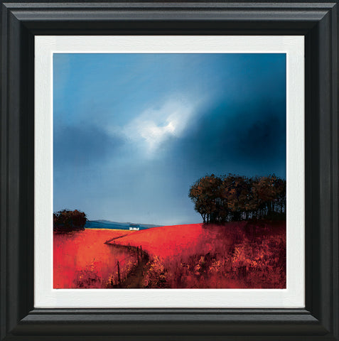 Barry Hilton, Crimson Fields of Home, Framed