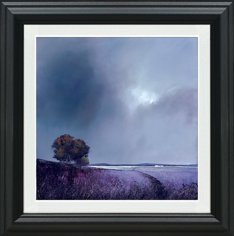 Barry Hilton, Lavender Skies, Framed