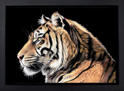Darryn Eggleton, The Wild Side II, Framed