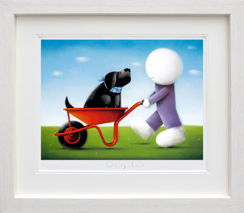 Doug Hyde, Daisy Trail, Framed