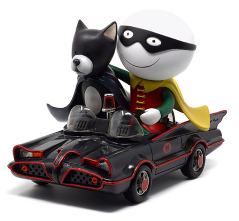 Doug Hyde, Catman And Robin, Sculpture